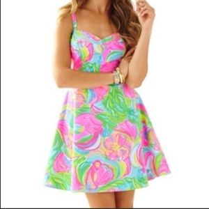 Lilly Pulitzer Dress Hibiscus Willow So a peeling